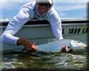 Nathan Wheeler flats fishing for bonefish.