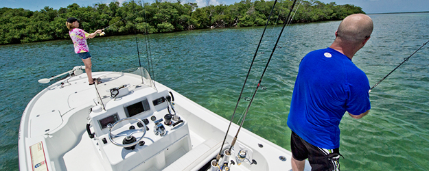 Florida Keys backcountry fishing charters